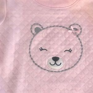 Carter's Shirts & Tops - Just One You by Carter's Pink Sweatshirt size 9 mo